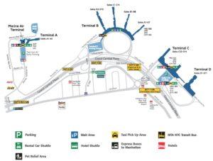 Четыре терминала LaGuardia Airport