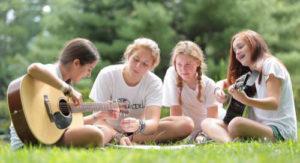 Свободное время в языковых лагерях
