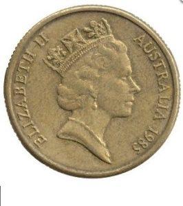 Аверс монеты 1 долл