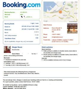 бронь Booking.com