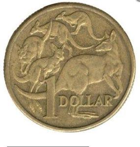 Реверс монеты 1 долл