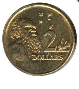 Реверс монеты 2 долл