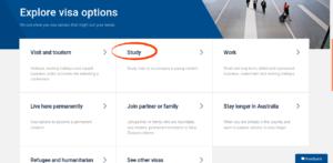 Интерфейс сервиса Visa Finder