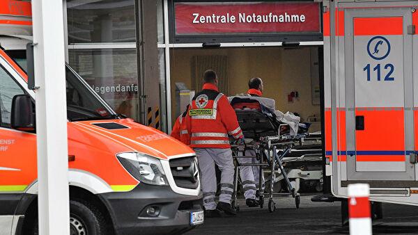 Распространение коронавируса в Германии