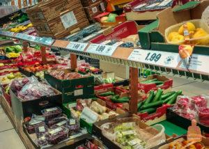 Цены в австрийских супермаркетах