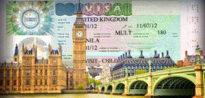 Фото визы в Великобританию