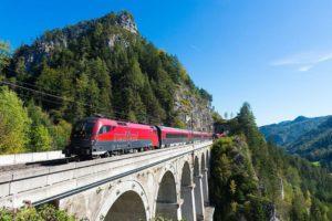 Железнодорожный транспорт Австрии