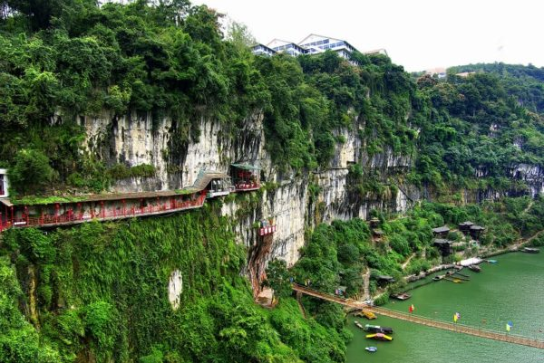 Туристические обьекты открытые для посещения в китайской провинции Хубэй