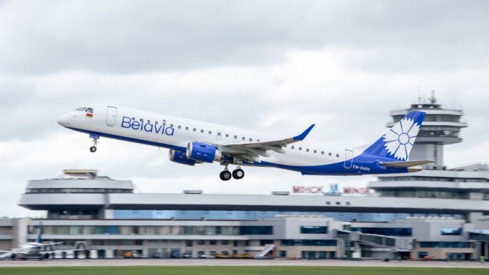 """""""Белавиа"""" сообщила об отмене рейсов в Ниццу и Женеву до середины осени"""